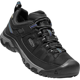 Keen M's Targhee Exp Waterproof Low Shoes Black/Steel Grey
